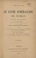 Nestorius, Patriarch of Constantinople, fl. 428. Le livre d'Heraclide de Damas. (Paris : Letouzey...