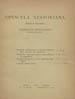 Opuscula Nestoriana. (Kiliae : G. von Maack, 1880);