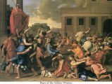 Rape of the Sabine Women;