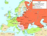 NATO and Warsaw Pact;