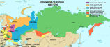 Expansion of Russia, 1462-1796;