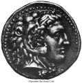 Alexander the Great Coin;
