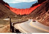 Christo 'Valley Curtain'
