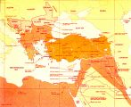 Map of Ottoman decline;