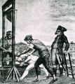 Robespierre Being Guillotined;