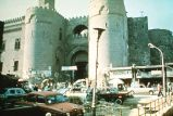 Medieval gates of 'old town' of Cairo;