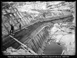 [Meadow Lake Dam Under Construction]