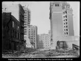 [Looking Toward Market Street at Palace Hotel from Geary Street]