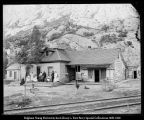 Mrs. Tucker, Junction House at Thistle [Utah]