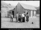 Scofield Mine [Utah] Explosion Miners killed; Mrs. John T. Jones house left with 7 children
