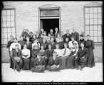 G. E. Anderson and Manwaring S[unday] S[chool] class