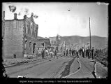 [Burned out buildings from the Park City fire of 1898]