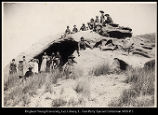 Cache cave, Echo Canyon Trip of 1892