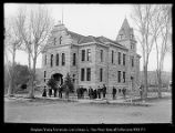 [The new Summit Co. Courthouse upon completion];