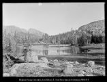 [Water Lily Lake. Hayden's Fork of Bear River, Utah 1903. From George and Lovenia to Albert]