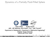 Dynamics of a Partially Fluid-Filled Sphere