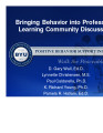 Bringing Behavior into Professional Learning Community Discussions