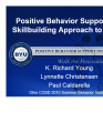 Positive Behavior Support:  A Skillbuilding Approach to E/BD