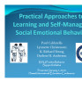 Practical Approaches to Learning and Self-Managing Social Emotional Behavior in Elementary Schools