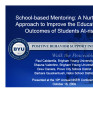 School-based Mentoring:  A Nurturing Approach to Improve the Educational Outcomes of Students...