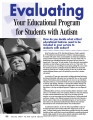 Evaluating Your Educational Program for Students with Autism