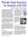 Provide Visual Structure for Students with ASD