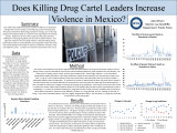 Does Killing Drug Cartel Leaders Increase Violence in Mexico?