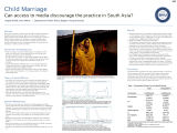 Child Marriage: Can access to media discourage the practice in South Asia?