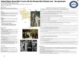 United States Secret War in Laos with the Hmong tribe (Vietnam era) – the agreement
