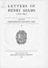 Letters of Henry Adams (1858-1891);