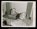 [Two Ebensee concentration camp prisoners]