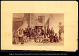 "Ute Indians at the Denver Exposition, ca."", #4201"