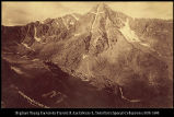 Mountain of the Holy Cross, [Colorado],  W. H. J. & Co. #3076