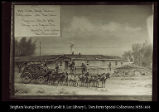[1877  Hat Creek Stage Station fortification with Port Holes Cheyenne -Black Hills Stage and...