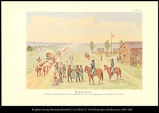 [Old Fort Kearny. A pioneer army post of the plains established in 1847 for the protection of...