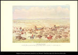 Buffalo Stampede. A herd of Bison, pursued by Indian hunters, brings dangerous excitement to a...
