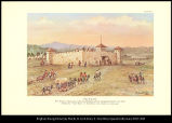 [Fort Laramie. The historic trading post as Francis Parkman and his companions knew it in 1846. ...