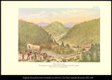 [Blue Mountains. The picturesque range over which travel-worn pioneers won their way into the...