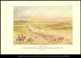 [Chisholm Trail. Following the Civil War hundreds of thousands of Texas Longhorns were driven...