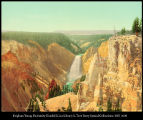 Lower Falls of the Yellowstone from artist's point 53335