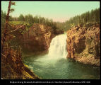 Upper Falls of the Yellowstone   53343 , 1906
