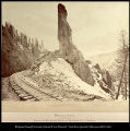 Phantom Curve. (San Juan Mountains,) [Colorado] Denver and Rio Grande Railway. The Scenic line of...