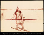 [Siberian Fisherman on skis.], #1142