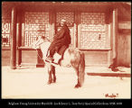 A Manchu horseman.  Dec  16th  #1177