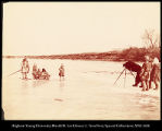 Among the Goldes on the Lower Amur.  Photographing the family group.  Nov 19,1895.  #1143