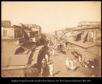 India.  Madras, street in Blacktown.  #338