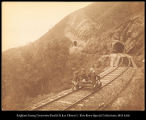 Ceylon.  Tunnels on the Railway near Ohiya. #183