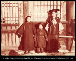 Manchu woman and children.  Sakalin  [sic. Saghalien].  #1181