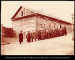 Siberia - Detention prison for convicts in Khabarofsk  [sic.Khabarovsk].  #1159