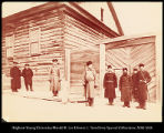 Siberia.  Convict prison officers and guards.  Khabarofsk  [sic. Khabarovsk].  #1163